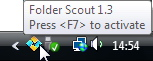 Folder Scout Tray Icon