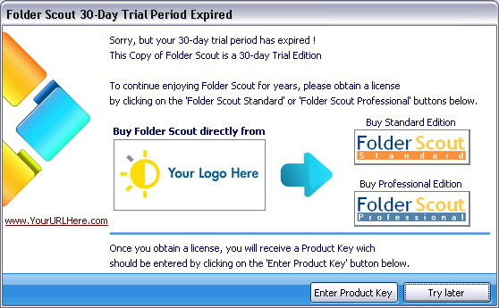 Folder Scout Expired